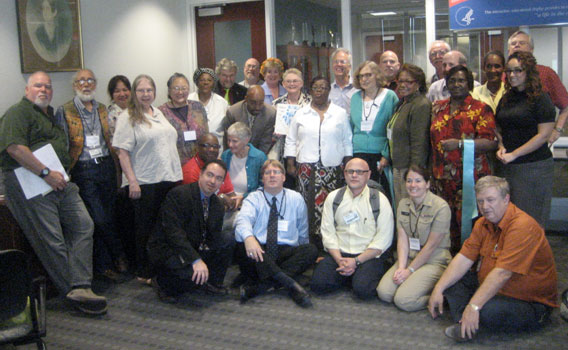 Attendees of the July 13-14 SAMHSA gathering
