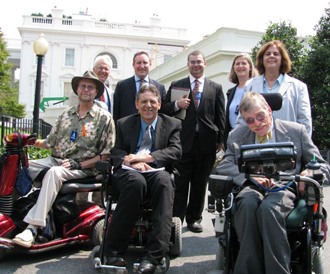 Disability Leadership Meet With White House Staff on Health Reform